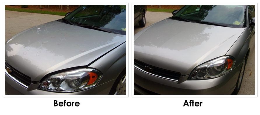 Wayne Hicks - Paintless Dent Repair in Atlanta, GA - Before and After Photo 2